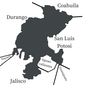 Zacatecas Surrounding States